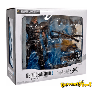 Metal Gear Solid 2: Snake Play Arts Kai