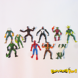 Spiderman: Figuras Villanos Mini x10