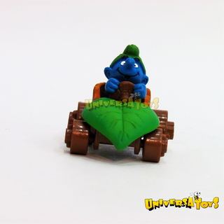 Schleich: Smurf in a car