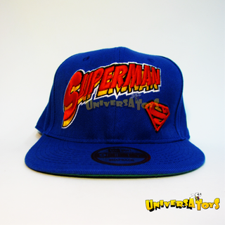 Gorra: Superhéroe Superman Logo Azul