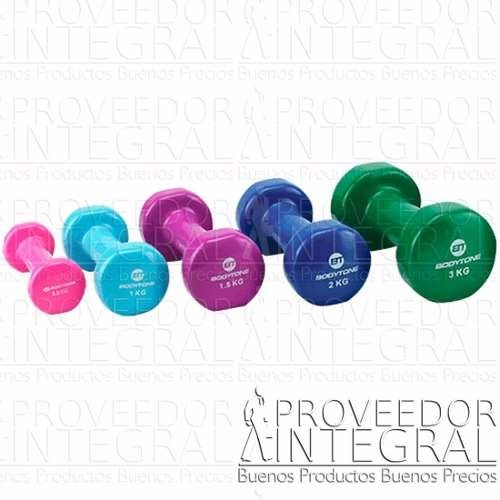 Kit Mancuernas Vinilo 10kg Evolution Fitness Crossfit