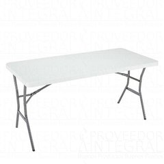 Mesa Plegable Lifetime Eventos Banquetes 152 X 70 Cm