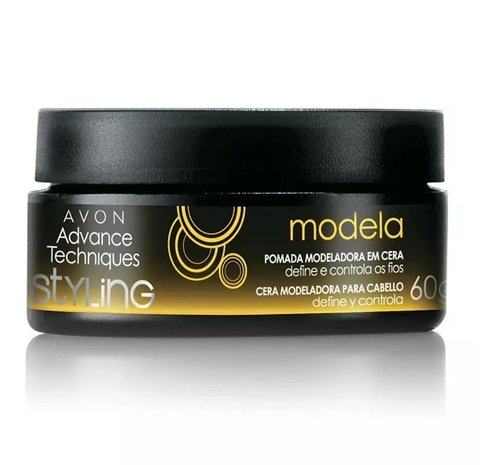Pomada Modeladora em Cera Styling 60g [Advance Techniques - Avon]
