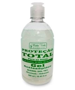 Álcool Gel Antisséptico 70% 500ml [Matto Verde]