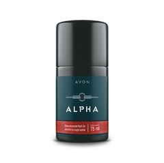 Alpha Antitranspirante Roll-On Masculino 75ml [Avon]
