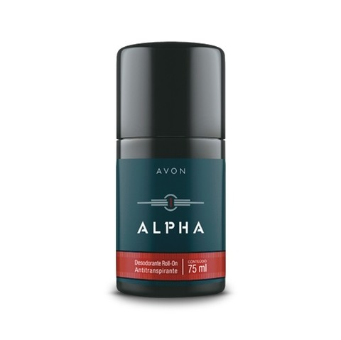 Alpha Antitranspirante Roll-On Masculino 75ml [Avon] na internet