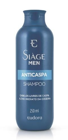 Shampoo Men Anticaspa 250ml [Siàge - Eudora]