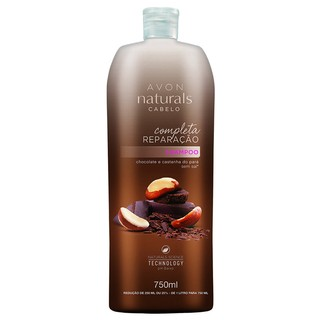 Shampoo Chocolate e Castanha do Pará 750ml [Naturals - Avon]