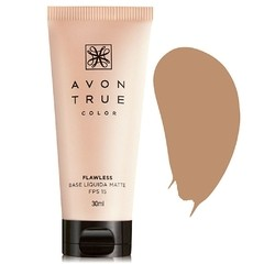 Base Líquida Matte FPS 15 Flawless [True Color - Avon]