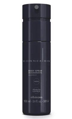 Connexion Desod. Body Spray 100ml [O Boticário]