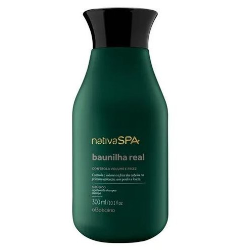 Shampoo Baunilha Real 300ml [Nativa Spa - O Boticário]