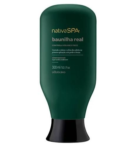 Condicionador Baunilha Real 300ml [Nativa Spa - O Boticário]