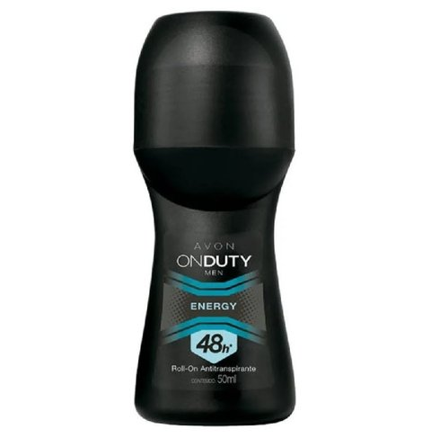 Men Energy Desodorante Roll-On Masculino 50ml [On Duty - Avon]
