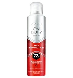 Desodorante Feminino Aerosol Antitranspirante On Duty Max Protection 72h [Avon]