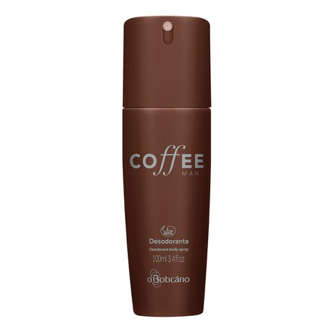 Coffee Man Desodorante Body Spray 100ml [O Boticário]