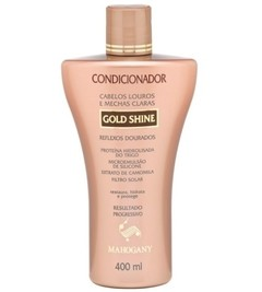 Condicionador Gold Shine 400ml [Mahogany]