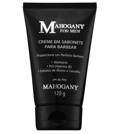 Creme em Sabonete para Barbear For Men 120ml [Mahogany]