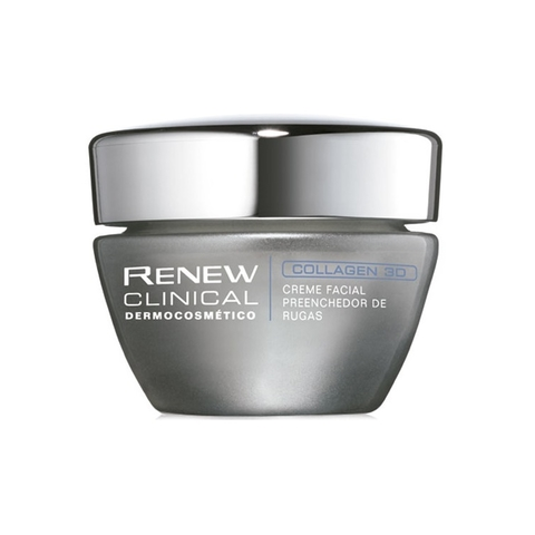 Creme Facial Preenchedor de Rugas Clinical Collagen 3D 30g [Renew Clinical - Avon]