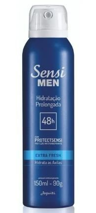 Extra Fresh Desod. Aerossol Antitranspirante 150ml [Sensi Men - Jequiti]