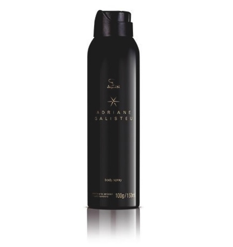 6b684634e Desodorante Body Spray Adriane Galisteu Aerossol Feminino 150ml  Jequiti