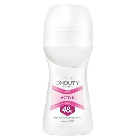 Desodorante Roll-On On Duty Women Active 50ml [Avon]