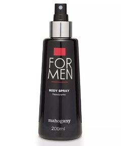 Desodorante Spray for Men 200ml [Mahogany] - comprar online