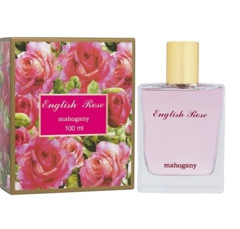English Rose Fragrância Desod. Feminina 100ml [Mahogany]