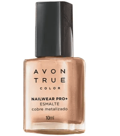 Esmalte nailwear pro+ metalizado 10ml [True color - Avon]