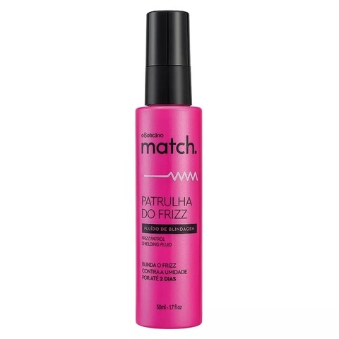 Fluido de Blindagem Patrulha do Frizz 50ml [Match. - O Boticário]