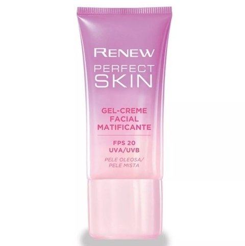 Gel-Creme Facial Matificante 30g [Renew Perfect Skin - Avon] - comprar online