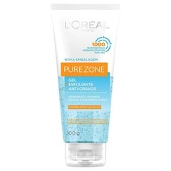 Gel Esfoliante Pure Zone Anti-Cravos Resistentes 100g [L'oréal Paris]