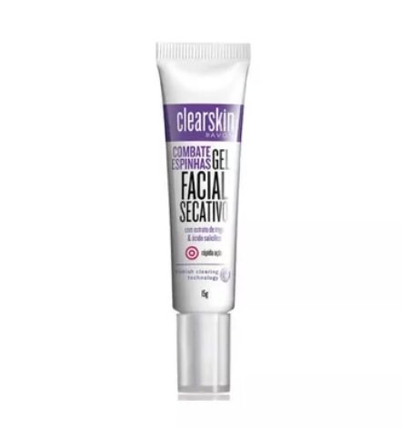 Gel Facial Secativo 15g [Clearskin - Avon]