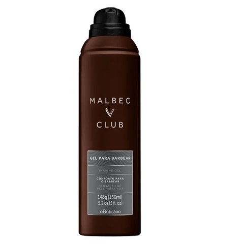 Gel Espuma para Barbear Malbec Club 150ml [O Boticário]