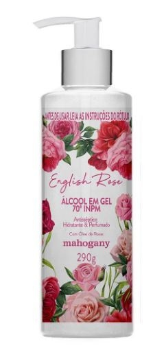English Rose Gel Antisséptico Hidratante 290g [Mahogany]