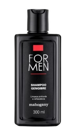 Shampoo Gengibre For Men 300ml [Mahogany] - comprar online