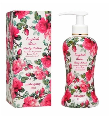 Hidratante English Rose 300ml [Mahogany]