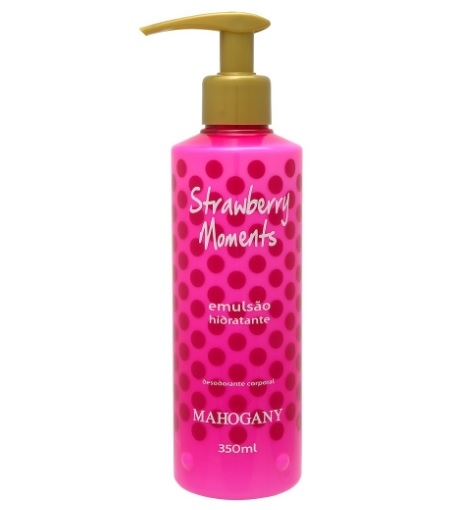 Hidratante Strawberry Moments 350ml [Mahogany] - comprar online