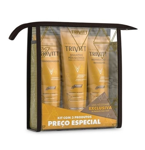 Kit Home Care com Hidratação Intensiva [Trivitt - Itallian]