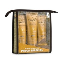 Kit Home Care com Leave-In Hidratante [Trivitt - Itallian]