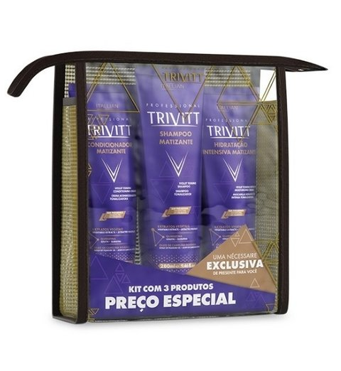 Kit Home Care Matizante com Hidratação Intensiva [Trivitt - Itallian]