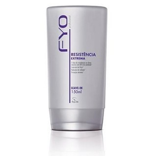 Leave-in Resistência Extrema 150ml [Fyo - Jequiti]