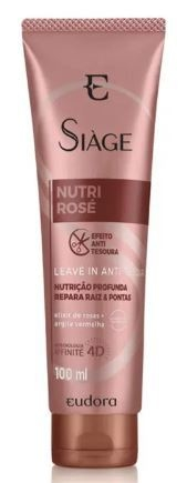 Leave-In Capilar Nutri Rosé 100ml [Siàge - Eudora]