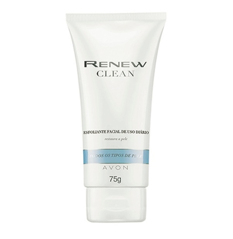 Limpeza Esfoliante Facial 75g [Renew Clean - Avon]