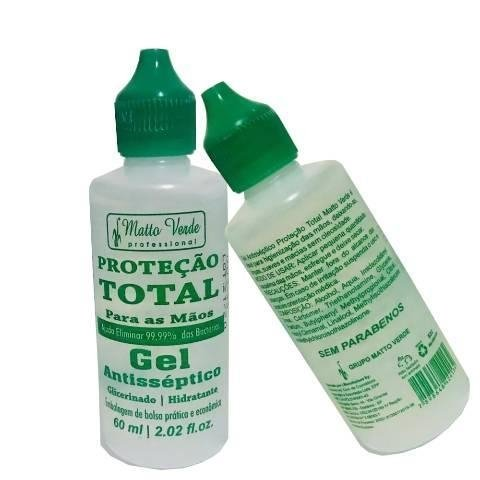 Gel Antisséptico 60 ml [Matto Verde] na internet