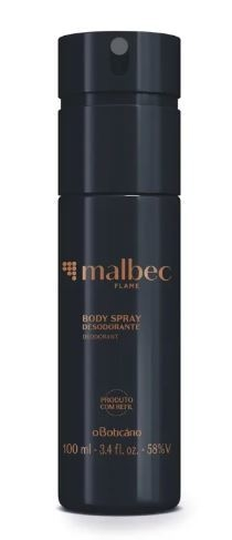 Malbec Flame Desodorante Body Spray 100ml [O Boticário]