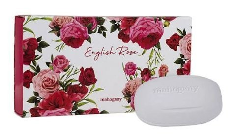 Sabonete em Barra English Rose 3x130g [Mahogany]
