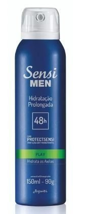 Play Desod. Aerossol Antitranspirante 150ml [Sensi Men - Jequiti]