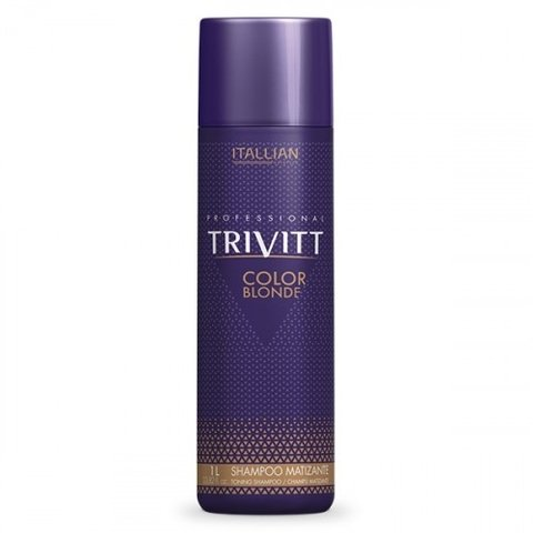 Shampoo Color Blond 250ml [Trivitt - Itallian]