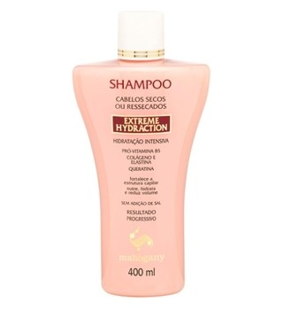 Shampoo Extreme Hydraction 400ml [Mahogany]