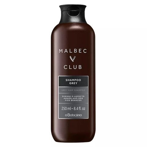 Shampoo Gray Malbec Club 250ml [O Boticário]